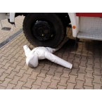 Modelo de salvamento, queda segura, 170 cm, 30 kg