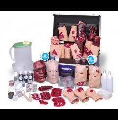 Simulador de acidente p/treino de emergência médica