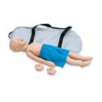 Torso p/reanim. cardiopulmonar, criança 3 anos idade