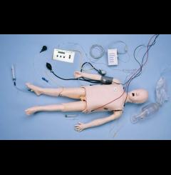 """Manequim """"Crisis"""" - Criança (Deluxe c/simulador E.C.G.)"""