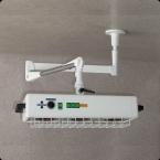Radiador de lâmpada de calor - modelo de tecto (3 pregas)