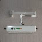 Radiador de lâmpada de calor - modelo de parede (3 pregas)