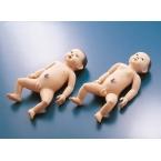 Modelo de bebé p/cuidados neonatais - masculino