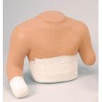 Curativo do coto da parte superior do torso